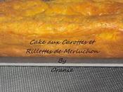 Cake carottes rillettes merluchon