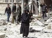 responsable l'OLP l'État Islamique (Daesh) retire Yarmouk, Syrie.