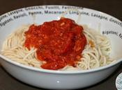 Spaghetti maison, Sauce Tomate Poivron
