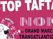 Journée mondiale mobilisation,La Rochelle samedi avril heures devant l'Office Tourisme, contre traités libre échange.