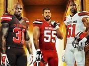 nouveaux uniformes Browns...