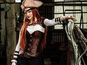 Cosplay Steampunk Pirate