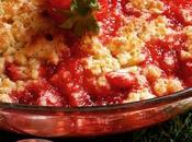 Crumble fraises