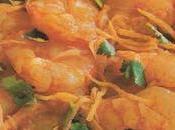 Grosses crevettes gingembre poivre Sichuan