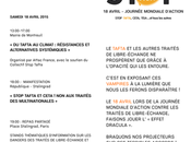 "samedi avril 2015 Journée internationale d'action anti TAFTA ""Sauvons climat, mairie Montreuil"