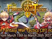 Fantasy Tactics bêta Android mondiale lancée