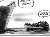drame migrants Méditerranée dessinateurs