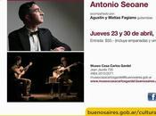 Deux nouvelles matinées avec Antonio Seoane Museo Casa Carlos Gardel l'affiche]