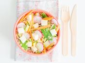 Salade printanière reblochon savoie