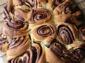 Brioche spirale infernale, ganache chocolat pour défi boulange