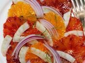 Salade d'oranges sicilienne