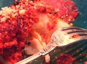 Cabillaud grillé chorizo parmesan #cadeau inside