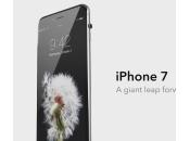 iPhone concept basé l'Apple Watch