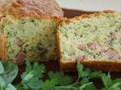Cake herbes jambon