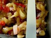 Salade d'aubergines l'huile sésame toasté
