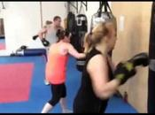 Punch boxe mode fitness