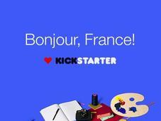 Financement participatif, Kickstarter débarque France