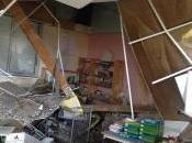 Effondrement plafond dans école Gonfreville l'Orcher