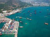 Hong Kong plus grand tunnelier monde entre service