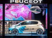 Peugeot Avenue Paris présente l'exposition Urban Life Colors