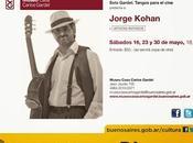 Trois concerts Jorge Kohan Museo Casa Carlos Gardel l'affiche]