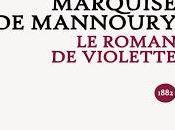 roman Violette Marquise Mannoury