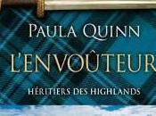 héritiers Highlands Tome L'Envoûteur Paula Quinn