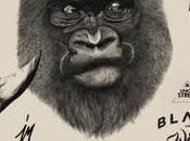 Graphiste mois Jerome Monimart, noir sauvage