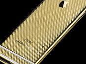 Version grand luxe recouvert d'or autres pierres précieuses pour iPhone