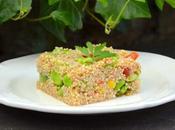 Salade quinoa façon taboulé