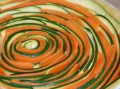 Tarte spirale courgettes carottes