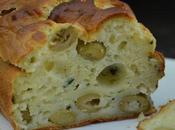 Cake brousse olives vertes