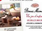 Plan Paris Ateliers recettes gourmands #BonneMaman