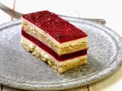 Gâteau fêtes mères vanille cerises