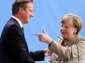 Réformes sein l'UE David Cameron obtient soutien d'Angela Merkel
