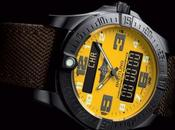 Breitling mode nuit avec l'Aerospace Night Mission…