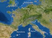 quoi ressemblerait l'europe glace monde entier mettait fondre