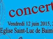 Baladins concert juin Saint-Luc Baimbrige