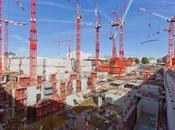 Nouveau Palais Justice Paris, chantier taille