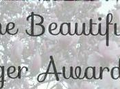 beautiful blogger award tag!