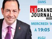 Invité Grand Journal Canal Plus 19h00