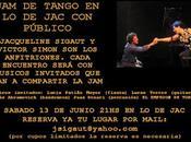 Nouvelle Sesión Tango chez Jacqueline Sigaut l'affiche]