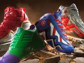 Adidas Basket Ball Avengers super héros playground