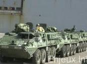 armes lourdes américaines Europe l'Est pour prévenir agression russe