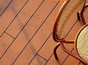 revêtement pour terrasse chaleureuse