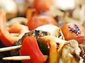 Recette kebab d'agneau brochettes barbecue four (Turquie)