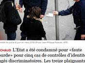 Lutte contre racisme VICTOIRE l'Etat français condamné pour contrôles faciès.