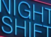 TRAVAIL POSTÉ: lumière vive après nuit blanche réveille vigilance Sleep 2015
