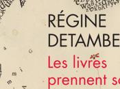 Vient paraître Régine Detambel livres prennent soin nous