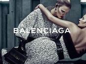 choc pour nouvelle campagne Balenciaga...